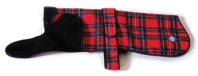Royal Stewart Dog Coat