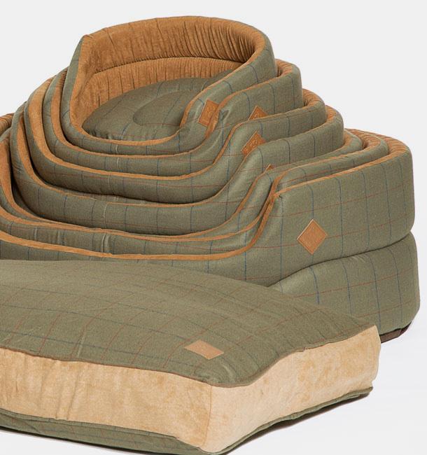 danish design tweed dog puppy bed duvet mattress free. Black Bedroom Furniture Sets. Home Design Ideas